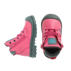 Palladium Pampa Hi Cuff Waterproof - mini mioche - organic infant clothing and kids clothes - made in Canada