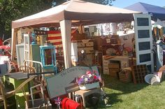 flea markets and arts and crafts shows!