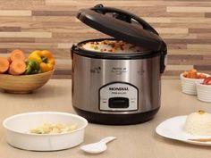 Panela de Arroz Elétrica Mondial 1,8 Litro - Cooker Premium com as melhores condições você encontra no Magazine Andreabh. Confira!