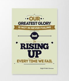 rising up every time we fail