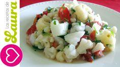 Ceviche de Coliflor Las Recetas de Laura Vegeterian Ceviche