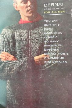 Knitting Patterns Sweaters Cardigans Vest Headband by elanknits (Craft Supplies & Tools, Patterns & Tutorials, Fiber Arts, Knitting, knitting patterns, men sweater patterns, mens jumper patterns, men cardigan pattern, men socks pattern, men vest patterns, knit vest patterns, headband pattern, Bernat 88, For All Men, waistcoat pattern, turtleneck pattern, mens sweater pattern)