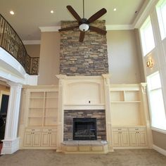 Fireplace With Cabinetry Design Ideas, Pictures, Remodel, and Decor