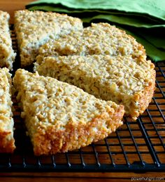 My rendition of a traditional Irish oat bread, made with rolled oats, steel-cut oats and oat flour. It's easy to make and wonderful for breakfasts, snacks, or alongside entrees of all kinds. Gluten Free Oats, Gluten Free Baking, Gluten Free Recipes, Vegan Recipes, Cooking Recipes, Gluten Free Oat Bread, Gluten Free Scones, Gluten Free Menu, Oats Recipes