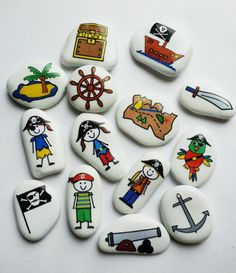 Painted Rock Ideas - Do you need rock painting ideas for spreading rocks around your neighborhood or the Kindness Rocks Project? Here's some inspiration with my best tips! Stone Crafts, Rock Crafts, Arts And Crafts, Diy Crafts, Pebble Painting, Pebble Art, Stone Painting, Story Stones, Bracelets Rainbow Loom