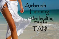 Be healthy and other tips on custom tanning with airbrushing! #beauty #afranztans