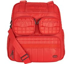 Top choice for the true traveler. Get uber organized on the go with the Lug quilted Puddle Jumper 2. QVC.com