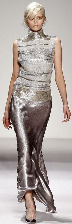 Rosamaria G Frangini | Sparkly Desire | Gianfranco Ferré, Silver* Dress
