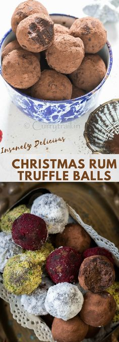 Christmas Rum Balls are perfect last minute Christmas treat recipe! It's very simple to make and guaranteed to wow your guests at the Christmas party.