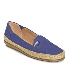Look at this A2 by Aerosoles Dark Blue Solar Panel Espadrille on #zulily today!