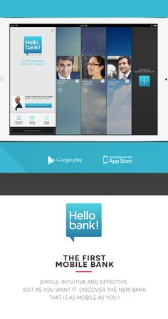 HELLO BANK! IPAD APP on Behance