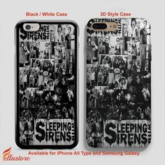 cool Kellin Quinn Sleeping With Sirens iPhone 7-7 Plus Case, iPhone 6-6S Plus, iPhone 5 5S SE, Samsung Galaxy S8 S7 S6 Cases and Other
