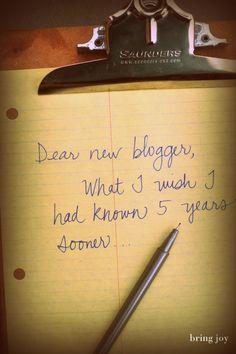blogging: 13 things I wish I'd known sooner Blog, Blogging, #blog, #blogging
