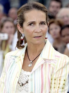 Infanta Elena, Duchess of Lugo is the oldest sister of King Felipe VI of Spain. She is currently third in line to the throne.