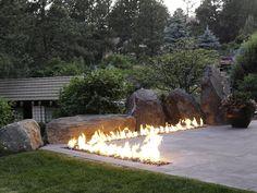 Les 214 meilleures images du tableau outdoor fireplace - Terrasses en ville un bel exterieur par d space studio ...