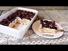 Tiramisu fara oua (reteta italiana RAPIDA, fara coacere) | Gina Bradea (English subtitles) - YouTube No Cook Desserts, Dessert Recipes, Tiramisu, Lily Collins, Ice Cream Recipes, Waffles, Pudding, Cooking, Breakfast