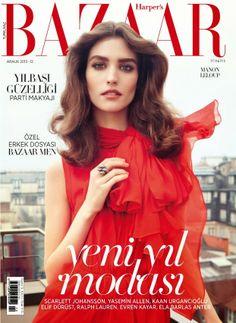 Manon Leloup for Harper's Bazaar Turkey December 2013