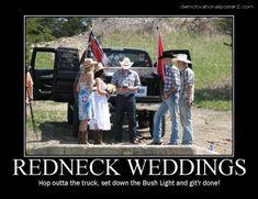 Funny Redneck Jokes | Funny Redneck Wedding