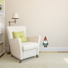 Hey, I found this really awesome Etsy listing at http://www.etsy.com/listing/116863700/wee-happy-gnome-wall-decal