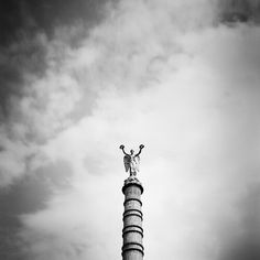 silverfineart-black-and-white-landscapes-paris-france-gerald-berghammer Wonderful Time, Fine Art Photography, Paris France, Statue Of Liberty, Landscapes, This Is Us, Black And White, News, City