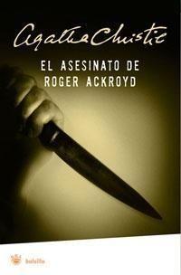 El asesinato de Roger Ackroyd - Agatha Christie  #NovedadesBibliotecaPozoCañada