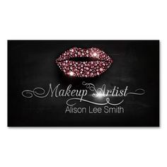 Business Card templates for Makeup Artists. These are completely ...