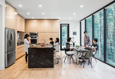 Modern home made for three generations of a tight-knit family