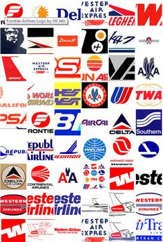 airline logos | Airlines Logo Pack | Airline Logos Vector
