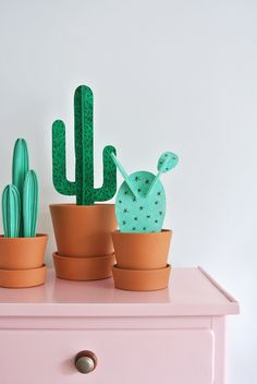 My Attic: DIY Cacti for Fashionista magazine, styling & photography: Marij Hessel