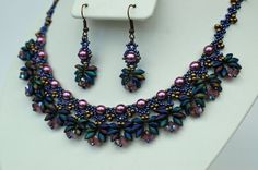 Beadwork Chocker / Necklace  Beadwoven by craftybeadcollection