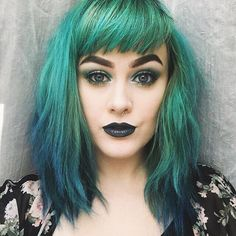 21 Ideas Hair Color Unique Dyes Bangs For 2019 Blonde Ombre Hair, Fringe Hairstyles, Cool Hairstyles, Bangs Hairstyle, Gefärbter Pony, Grey Balayage, Dyed Bangs, Punky Hair, Coloured Hair