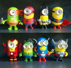 Avenger minions Minion Cakes Pinterest Avengers Photos and