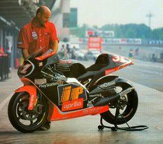 Aprilia rsv 500cc 2strokes Harada
