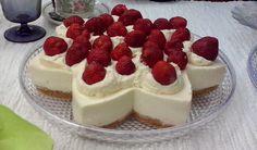 strawberry cake (oma) cheesecake
