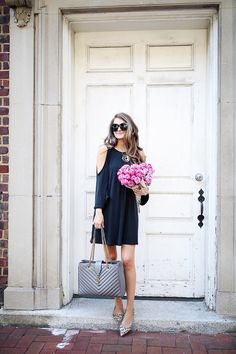 A Dress to Wear Now & in the Fall | Southern Curls & Pearls | Bloglovin'