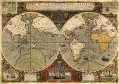 Best Maps Around The World Images On Pinterest Old Maps - Printable antique world map