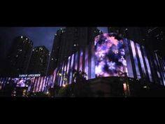 The World's Longest Media Facade - Taman Anggrek (Jakarta, Indonesia)