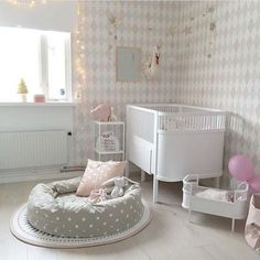 Baby girl room decorating ideas decor decoration for a modern chic nursery toddler rooms boy . Baby Nursery Themes, Chic Nursery, Baby Room Decor, Nursery Room, Girl Nursery, Girl Room, Nursery Ideas, Nursery Decor, Girl Decor