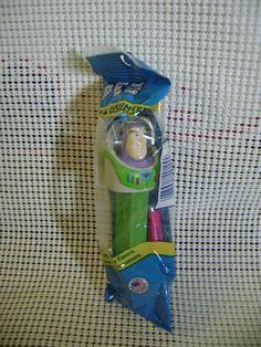 PEZ candy dispenser BUZZ LIGHTYEAR Walt Disney Pixar TOY STORY blue wrap NEW