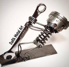 Metal Art by @darkmetalart!! #weld #welder#welding #welder#tig#tigwelding#weldporn#inox#work#workinprogress #art #artoftheday #artwork#artistic #metal #metalwork #metalart #passion#sculpture #steel #stainlesssteel #cool#iron #gtaw#mask #helmet #walkthecup