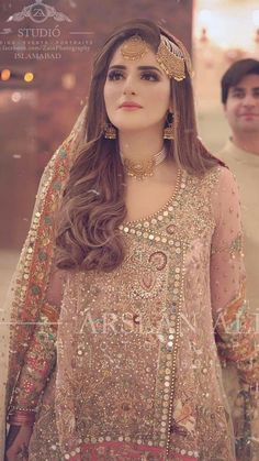 Asian Wedding Dress Pakistani, Pakistani Bridal Makeup, Beautiful Pakistani Dresses, Indian Bridal Fashion, Pakistani Dress Design, Beautiful Dresses, Bridal Mehndi Dresses, Asian Bridal Dresses, Bridal Outfits