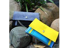 Neutral fashion felt shoulder bag/2087/Design the future| Buyerparty Inc.