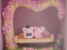 lovely cake topper   Flickr - Photo Sharing!
