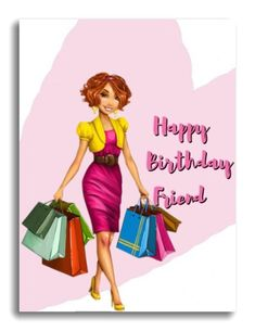 Free Birthday Greetings, Happy Birthday Ecard, Birthday Wishes Messages, Girl Birthday Cards, Birthday Woman, Betty Boop Cartoon, Girl Friendship, Free Black, Aurora Sleeping Beauty