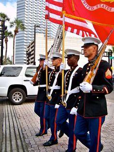 USMC Dress Blues look so good!!!