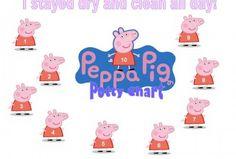Peppa Pig Potty Training Chart