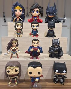 "1,882 Me gusta, 27 comentarios - RobToys (@robtoys) en Instagram: ""Trinity Tower * * #superman #batman #wonderwoman #justiceleague #cosbaby #funkopop #diecast #toy…"""