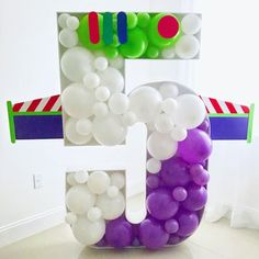 Pin by Rojos Bakery on Party Balloons & Decor in 2019 Toy Story Font, Fête Toy Story, Toy Story Theme, Toy Story Birthday, Toy Story Party, Toy Story Crafts, Cumple Toy Story, 3rd Birthday Parties, 2nd Birthday