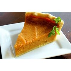 "Sweet Potato Pie VII | ""The Sweet Potato Pie is a southern tradition that is a thick, creamy and not-too-sweet desert. Recipe is very simple and quick to make. You can add various spices like cinnamon, ginger or nutmeg to sugar mixture to add a little spicy flavor."""