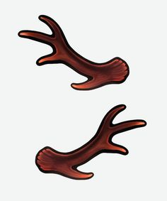 Antler hair clips - Hey Chickadee  Perfect for my girl!